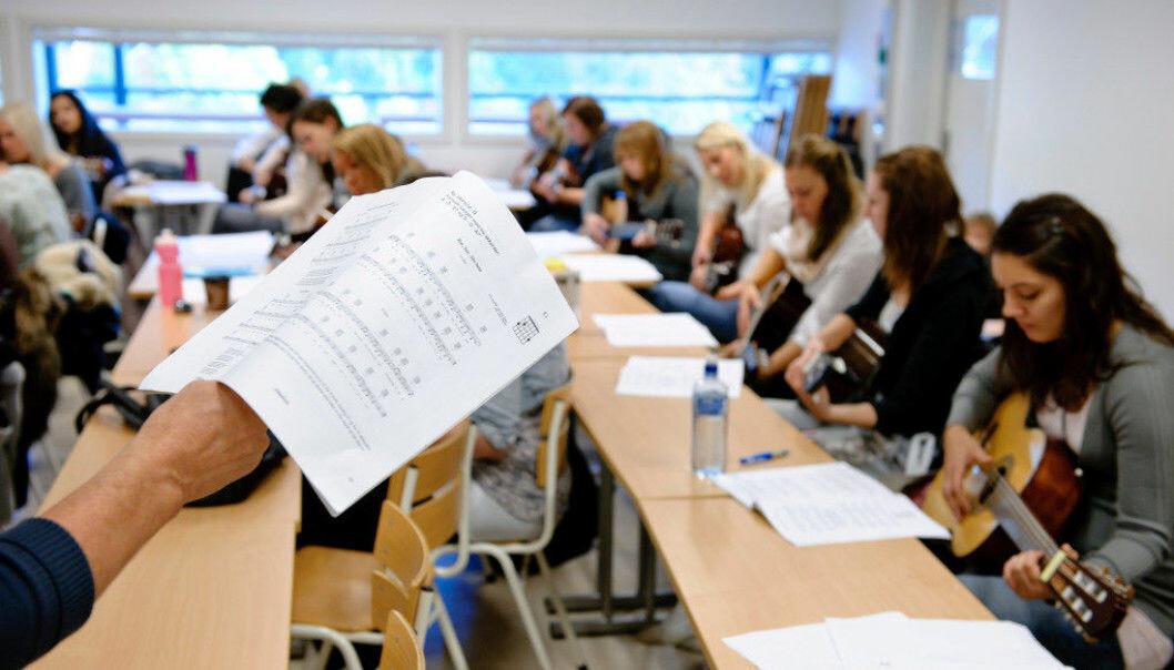 322 studieplasser i Norge står ledig - flere av dem ved grunnskolelærerutdanningene. Illustrasjonsfoto: Erik M. Sundt