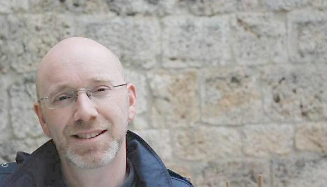 Christian Evenshaug, lokallagsleder i Utdanningsforbundet i Drammen. Foto: Privat