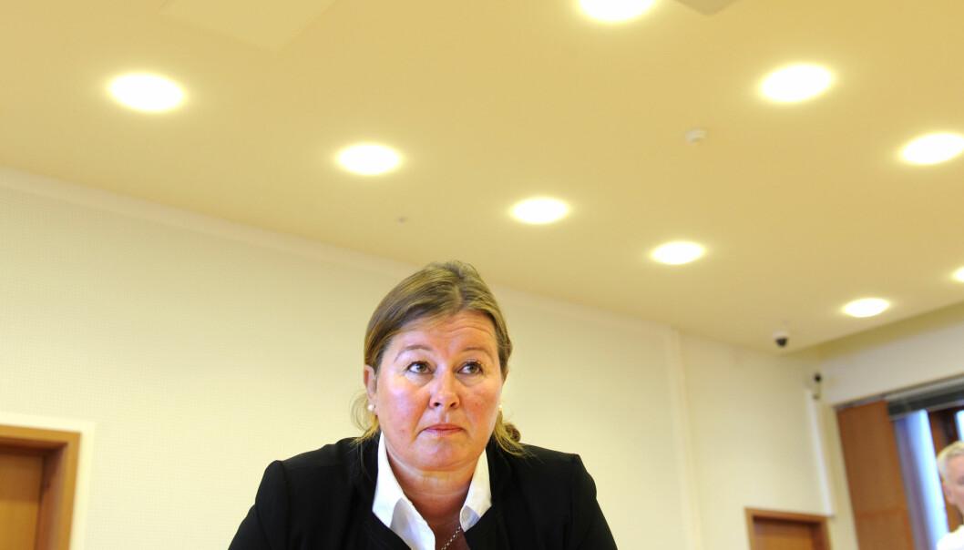 Advokat Vibeke Hein Bæra har blitt kontaktet av 49 personer i forbindelse med mobbesakene i Drangedal i Telemark. Foto: Terje Pedersen / NTB scanpix