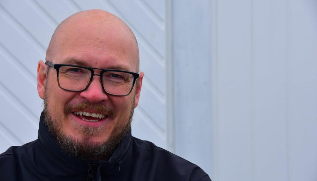 – Det som har gjort meg mest oppgitt, er kompetansekrav for lærere med tilbakevirkende kraft, sier Arnt Holger Jensen, leder for Utdanningsforbundet Finnmark. Foto: Kirsten Ropeid
