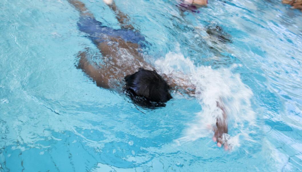 8 av 100 millioner kroner som kommunene kunne fått til svømmeopplæring, står ubrukt, ifølge regjeringen. Illustrasjonsfoto: Erik M. Sundt