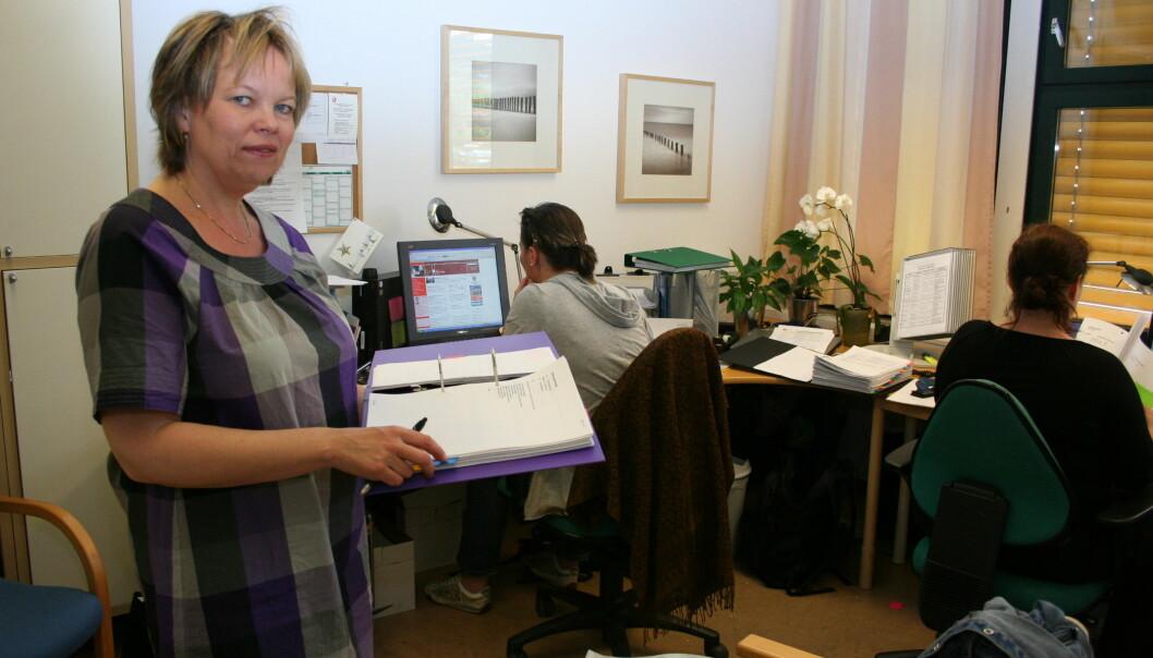 Kristin Løver er leder i det nyopprettede Utdanningsforbundet Lillestrøm i Akershus. Arkivfoto: Kjersti Mosbakk