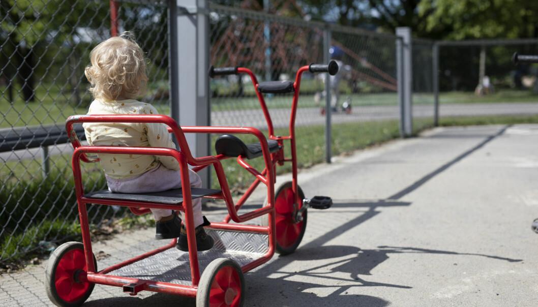 – Skattekuttene vanlige familier har fått, har blitt mer enn spist opp av økningen i barnehageprisene siden 2013, sier Ap-leder Jonas Gahr Støre. Illustrasjonsfoto: Maja Ljungberg Bjåland