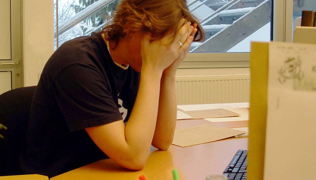 Mengda rapportering og dokumentasjon er med på å auke stressnivået for engelske lærarar, ifølgje ei ny undersøking. Illustrasjonsfoto: Carl Dwyer/Freeimages.com