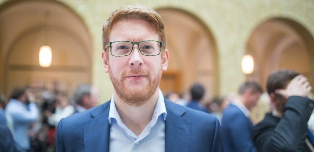 Arbeiderpartiets Martin Henriksen mener det er på tide at Høyre følger opp løftene de kommer med. Foto: Hans Skjong.