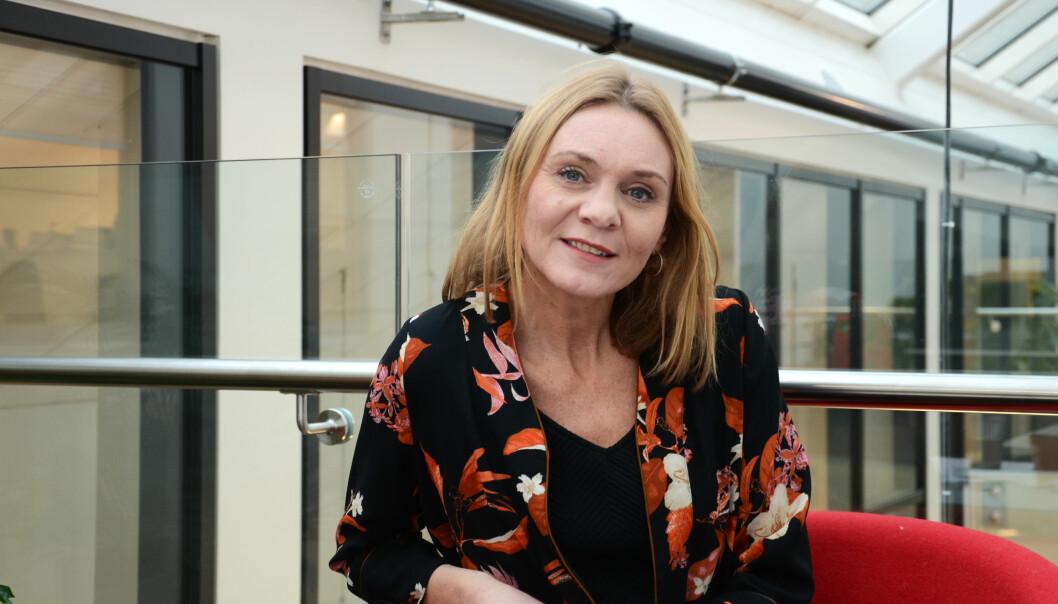 Marit Uthus dybdeintervjuet 11 spesialpedagoger i forbindelse med sitt doktorgradsarbeid. Foto: Kari Oliv Vedvik
