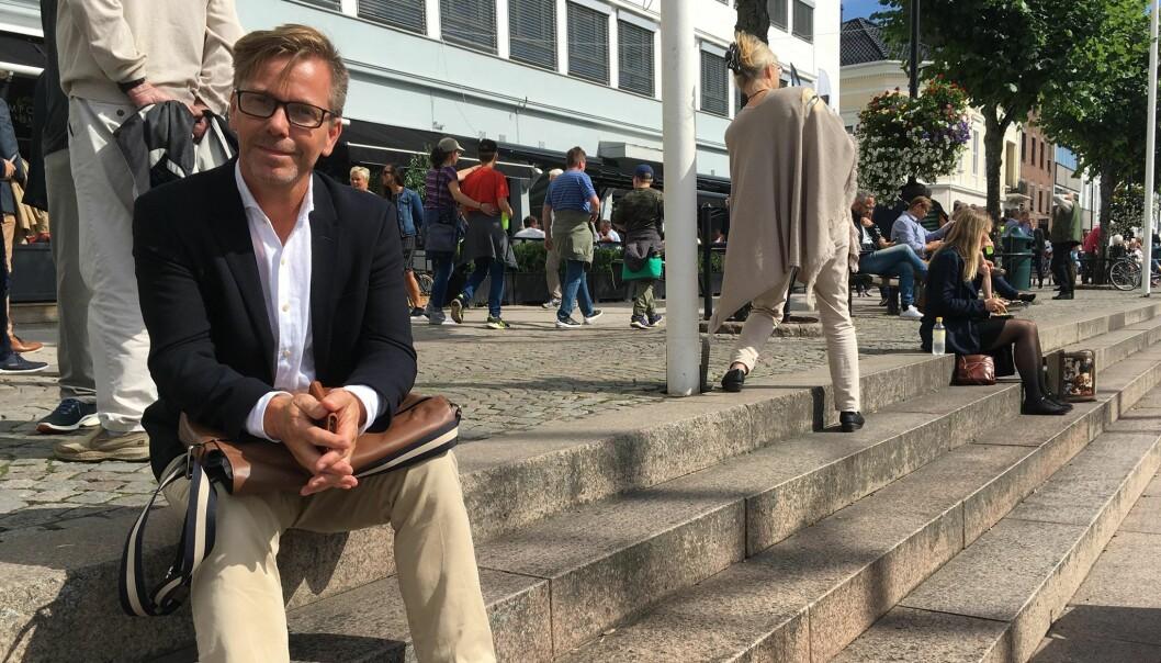 - Lærere blir ofte mer bekymret enn det er grunn til, ifølge barnepsykolog Trygve Børve. Foto: Paal Svendsen.
