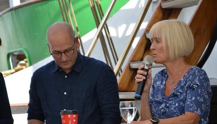 Steffen Handal og Ragnhild Lied. Foto: Kari Oliv Vedvik