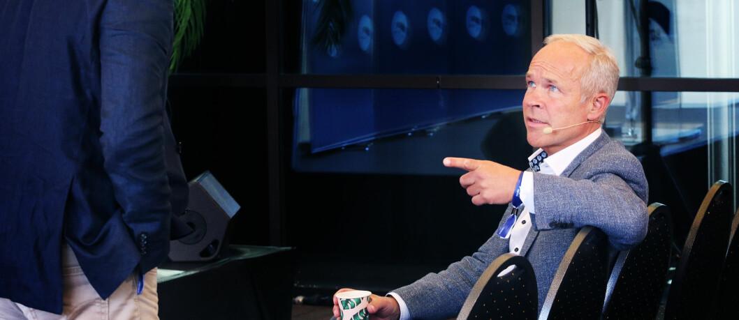 Kunnskapsminister Jan Tore Sanner vil ha strengere krav til oppfølging av mobbesaker i barnehagene. Foto: Jørgen Jelstad.
