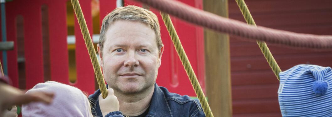 Daglig leder i Smedhusåsen barnehage, Royne Berget. Foto: Tom-Egil Jensen.