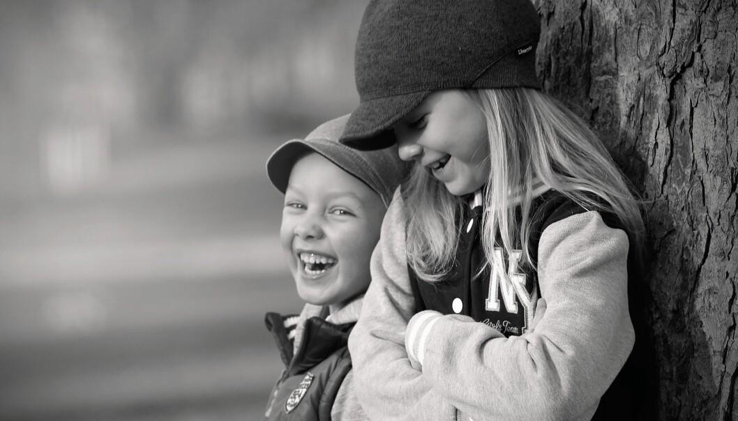 – Erting er i utgangspunktet eit normalt og til dels sunt fenomen mellom barn, skriv Gunhild Nordvik Reite. Illustrasjonsfoto: Pixabay