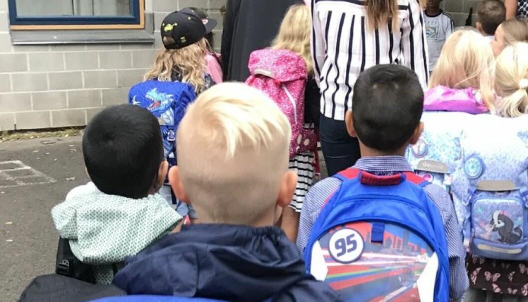 Regjeringen vil at kommunene skal prøve ut ordninger for fleksibel skolestart. Illustrasjonsfoto: Paal Svendsen
