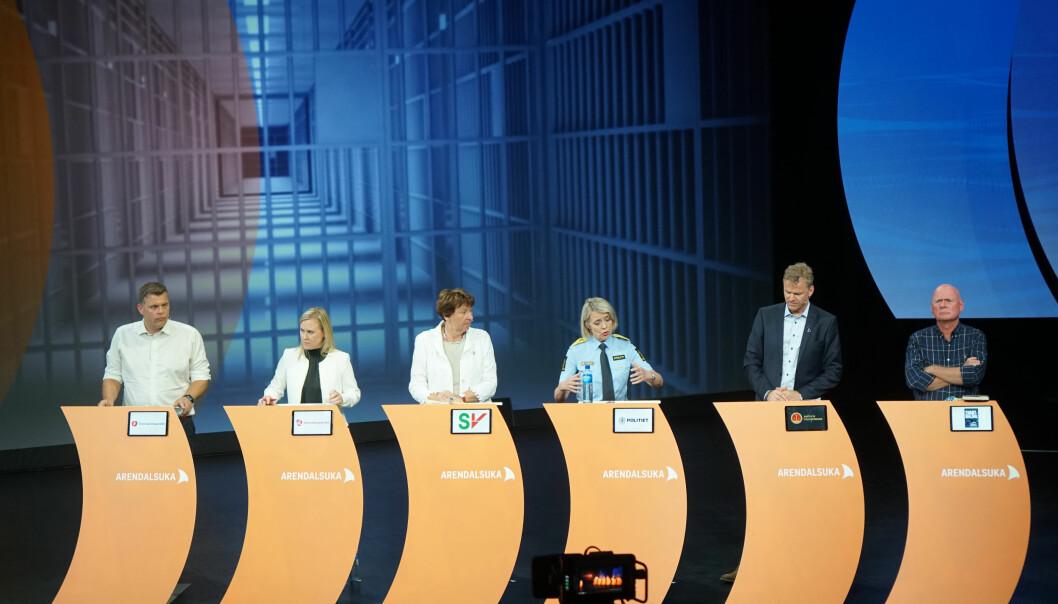 Tre ministre går nå sammen om å lage en handlingsplan for å forebygge ungdomskriminalitet. Bakgrunnen er blant annet konfrontasjonen mellom ungdom og politiet på Bogerud T-banestasjon i Oslo. Foto: Marianne Ruud