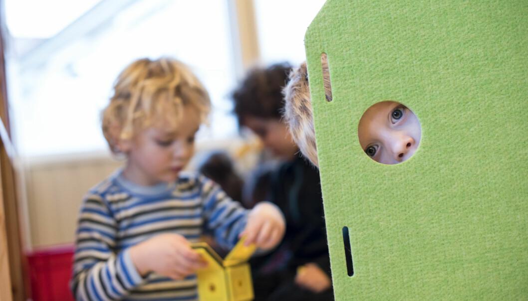 Hva om det nettopp er den ustrukturerte rammeplanen som gjør den norske barnehagen til den suksess den er? spør Teresa Katherine Aslanian. Illustrasjonsfoto: Erik M. Sundt