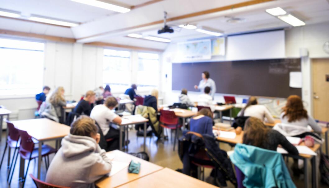 Terrorismeforsker Jacob Ravndal kommer med konkrete tips til hvordan lærere kan hindre at elever radikaliseres. Foto: Erik M. Sundt