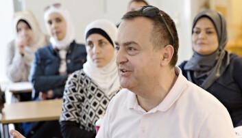 Emad fra Syria håper på jobb som lærer i svensk skole