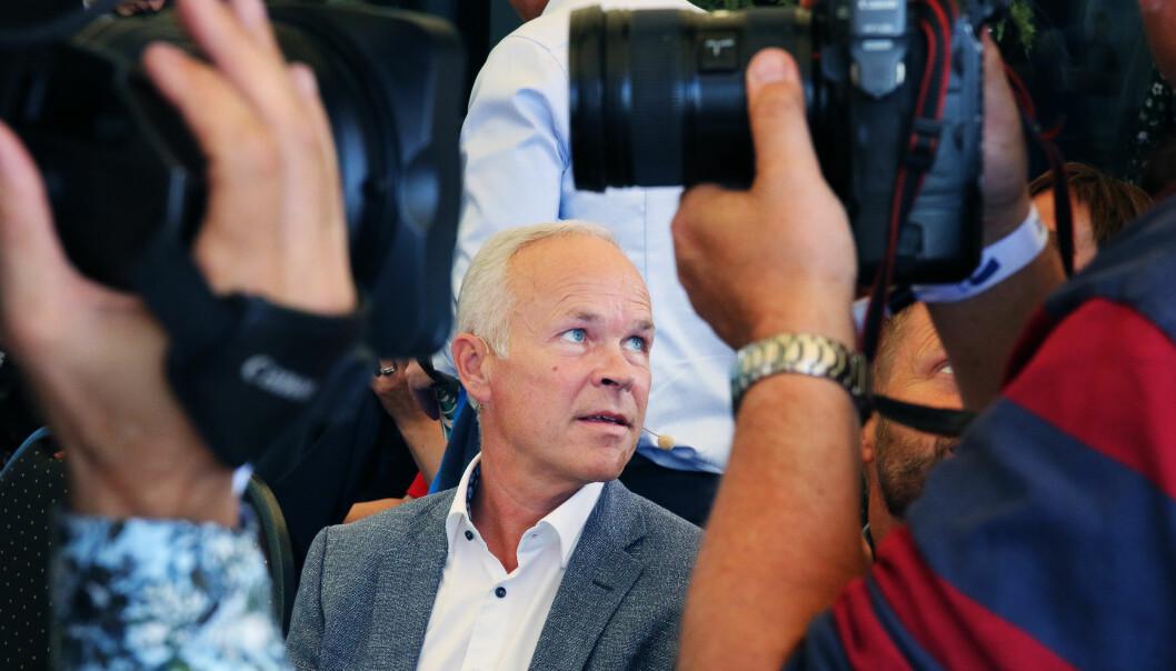 Kunnskapsminister Jan Tore Sanner ønsker ikke lenger at fylkene skal bestemme om de vil ha fritt skolevalg i videregående. Foto: Jørgen Jelstad