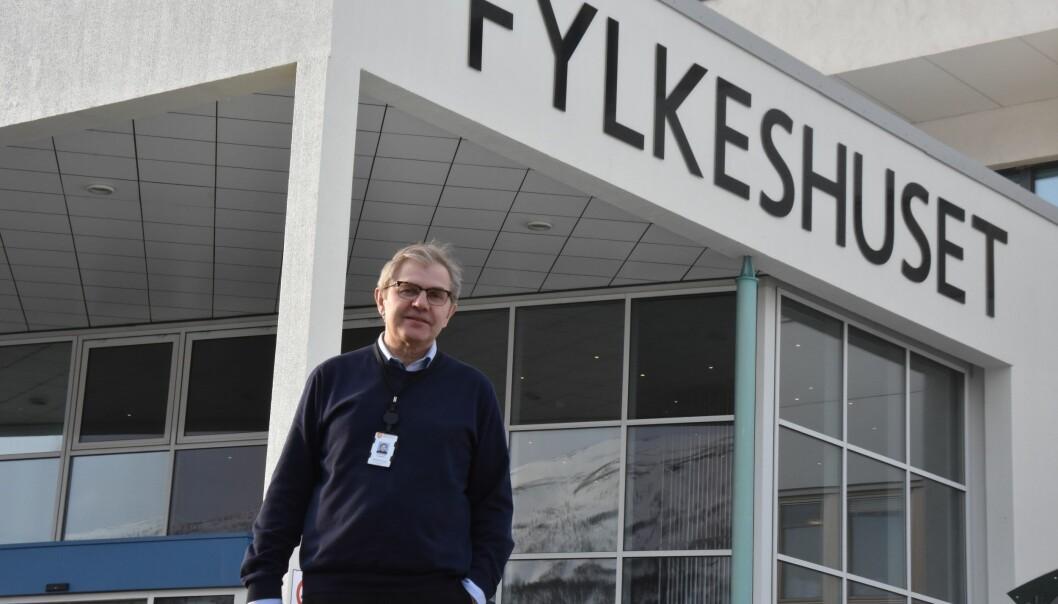 Venstres utdanningsråd i Troms fylkeskommune tror Sanners forslag om nye inntaksregler vil føre til liten endringer i praksis. Men han er urolig for svake elever. (foto: Kirsten Ropeid)