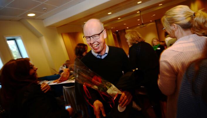 Pedagogikkprofessor Thomas Nordahl på en konferanse i 2013. Foto: Torkjell Trædal.
