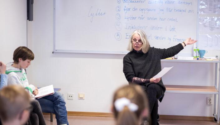 Lærer Rikke Grønborg Mortensen. Foto: Erik M. Sundt.