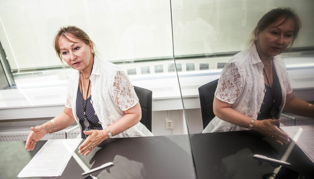 Erling Barlindhaug, avdelingsdirektør for utdanning i KS, mener fylkespolitikerne må få avgjøre inntaksordning i videregående skole. Men KS-leder og ordførerkandidat Gunn Marit Helgesen (H) er for fritt skolevalg. Foto: VG