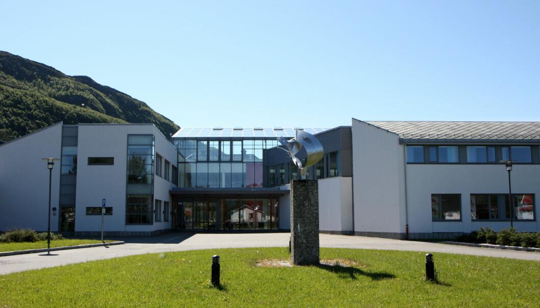 Nord universitet har levert en anmeldelse på drapstrussel mot rektor Hanne Solheim Hansen. Foto: Nord universitet