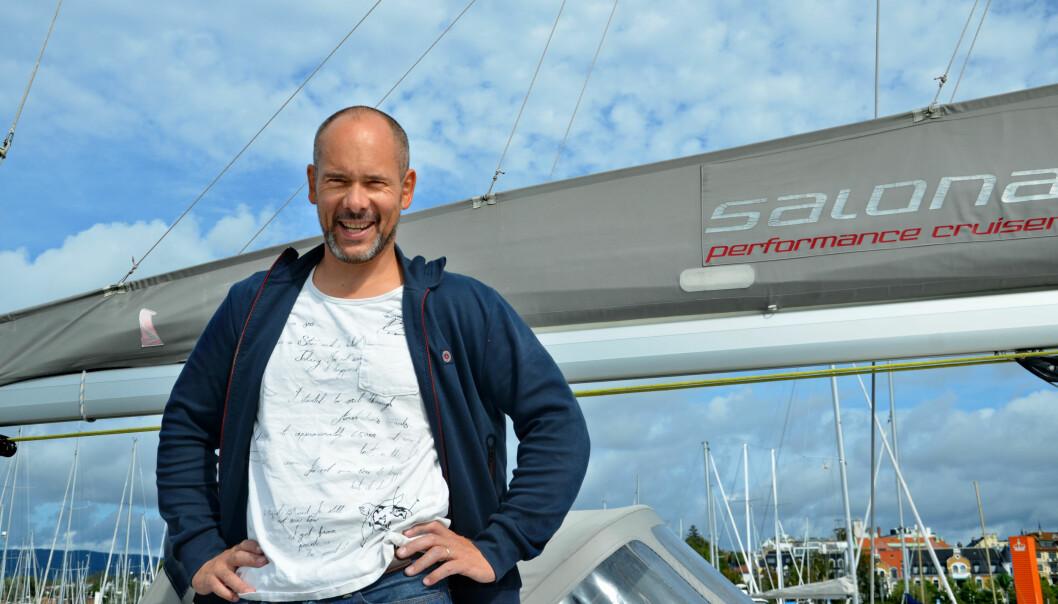 Snart setter Bjarne Nielsen kursen for mer eksotiske farvann enn det han tidligere har seilt på. Foto: Kari Oliv Vedvik
