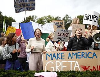 Elever over hele landet streiker for klimaet