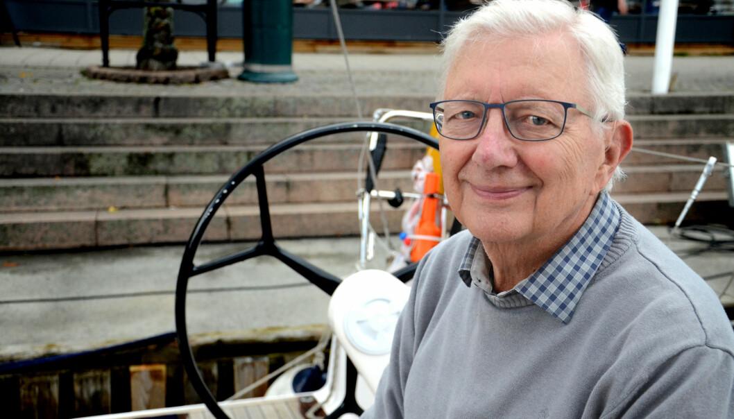Aktiv og engasjert i både skole og samfunn er Arne Bergersen. Foto: Kari Oliv Vedvik