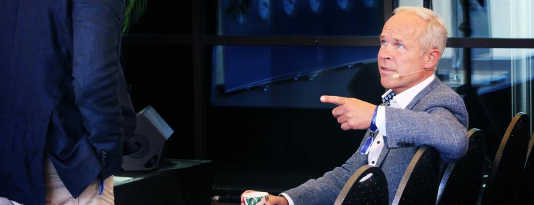 Kunnskapsminister Jan Tore Sanner vil ha bedre kontroll med pengebruken i de store barnehagekjedene. Foto: Jørgen Jelstad.