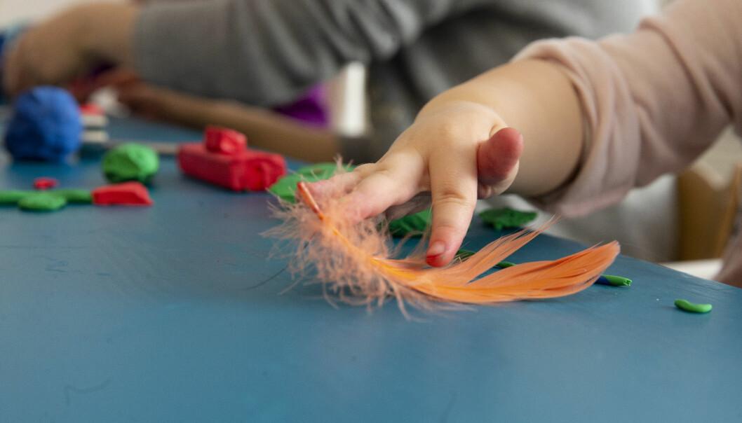 Barnehagestiftelsen Kanvas har lyst ut syv stillinger som barnehagelektor. Illustrasjonsfoto: Eva Groven