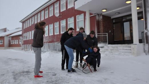 Senterpartiet vil gi gass for små skolar i Finnmark