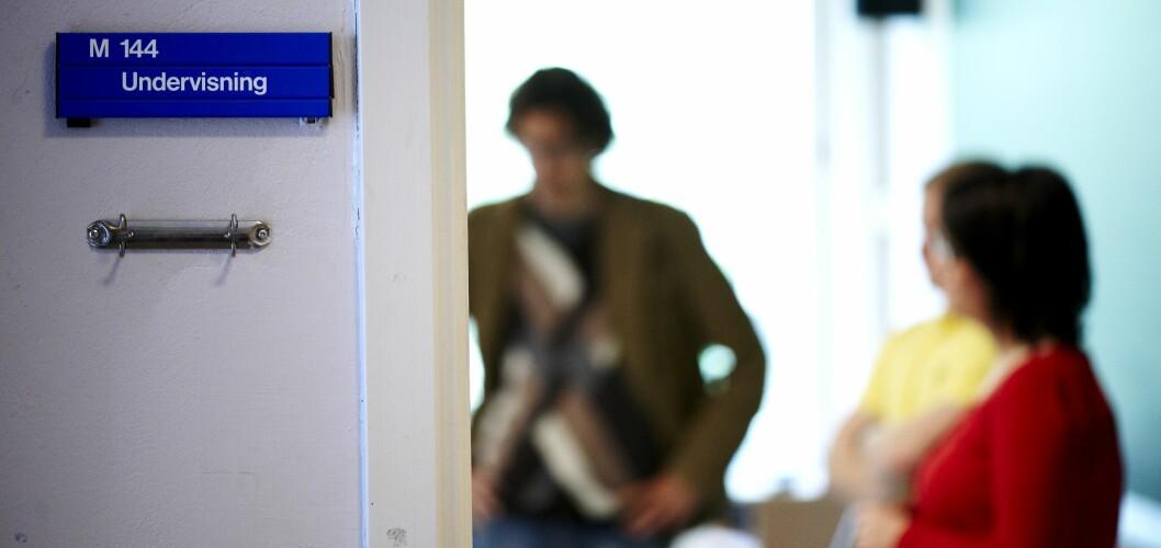 Leder for Utdanningsforbundet Sarpsborg mener GSI-tallene ikke gjenspeiler virkeligheten i kommunen når det kommer til bruk av ukvalifiserte lærere. Foto: Erik M. Sundt.