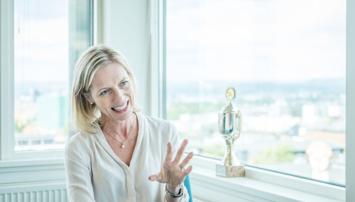– Jeg skal være tydelig på retning, men ikke for detaljorientert, lover utdanningsdirektør Marte Gerhardsen. Foto: Joakim S. Enger