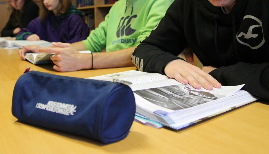 Fråfall i vidaregåande skole i Rogaland er litt mindre, men den nye politiske leiinga vil ha fråfallet enda lågare. Foto: Inger Stenvoll
