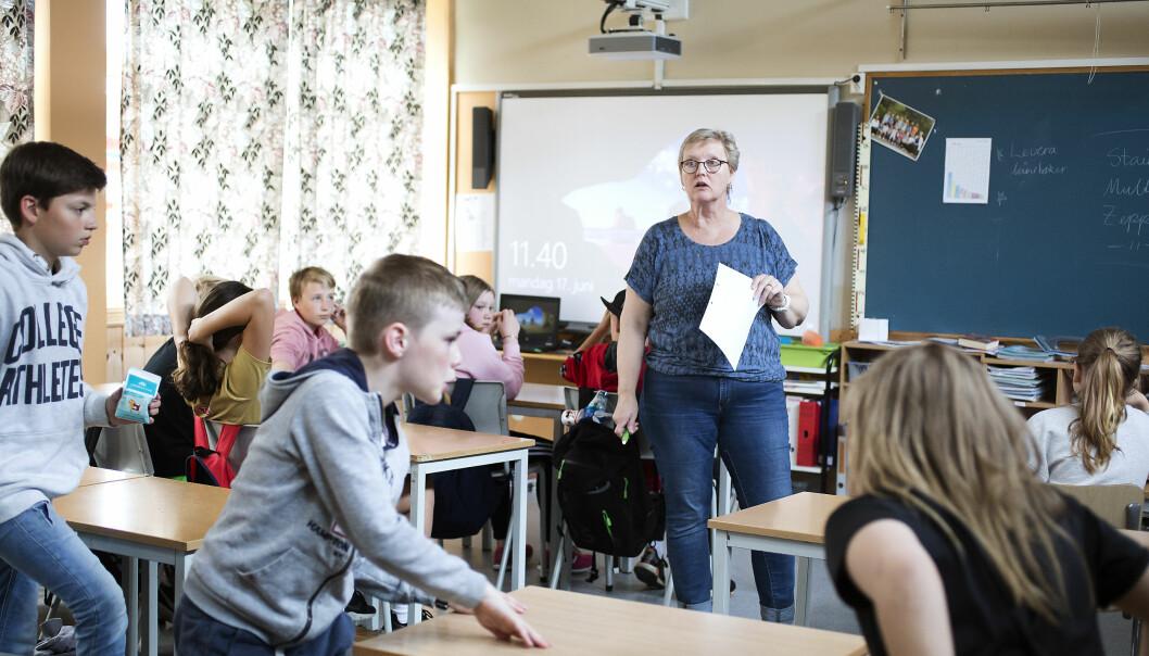 - Med Veilederkorpset var lærerne opptatt av at denne gangen måtte ballen få lande, sier lærer og hovedtillitsvalgt Marit Midtun.