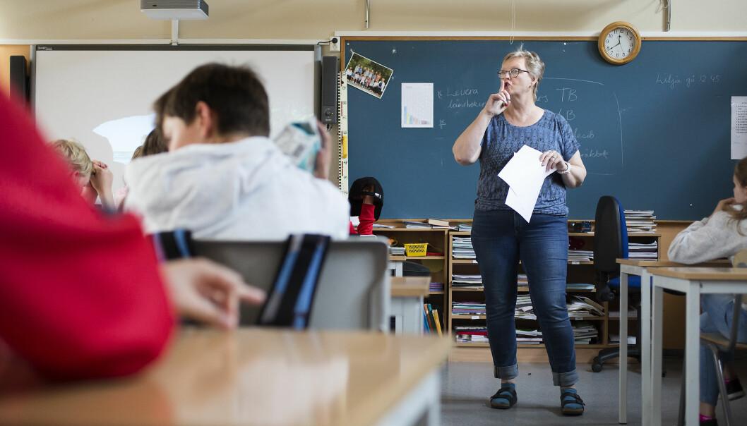 Lærer Marit Midtun mener de er blitt bedre til å tenke langsiktig.  – Og skolene i kommunen styrer i én felles retning, sier hun etter oppfølgingen fra Veilederkorpset.