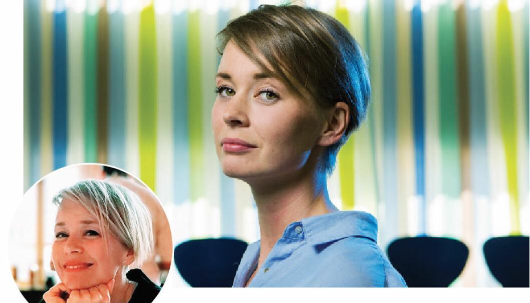 Cathrine Flakk Haugen innrømmer at hun har tenkt på å bytte yrke. Bo Mathiesen/privat