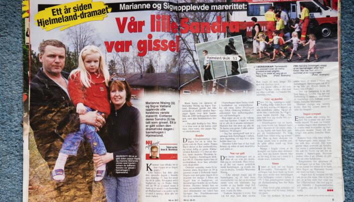 Norsk Ukeblad hadde en reportasje om familien et år etter hendelsen.