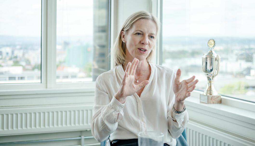 Utdanningsdirektør i Oslo Marte Gerhardsen varsler en kartlegging av Utdanningsetaten. Foto: Joakim S. Enger