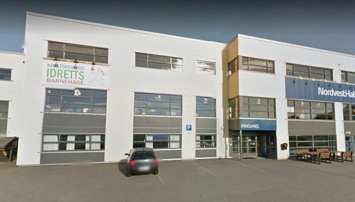 Kristiansund idrettsbarnehage. Foto: Google.