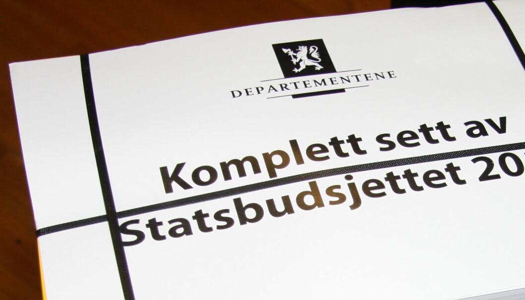 Statsbudsjettet for 2020 blir lagt fram 7. oktober 2019. Foto: Marianne Ruud