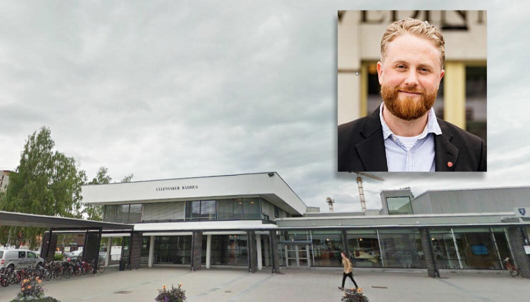 Ordfører i Ullensaker, Eyvind Jørgensen Schumacher, kutter sin egen lønn; han mener pengene kan brukes på en ekstra lærerstilling, Foto: Google & Johannes Kiese/Arbeiderpartiet