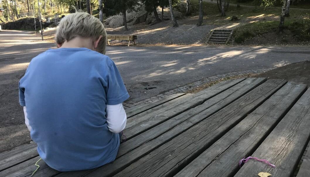 La meg gjøre det tindrende klart: Ingenting står på spill for oss, men mye står på spill for barna, skriver Willy Tore Mørch. Ill.foto: Paal Svendsen