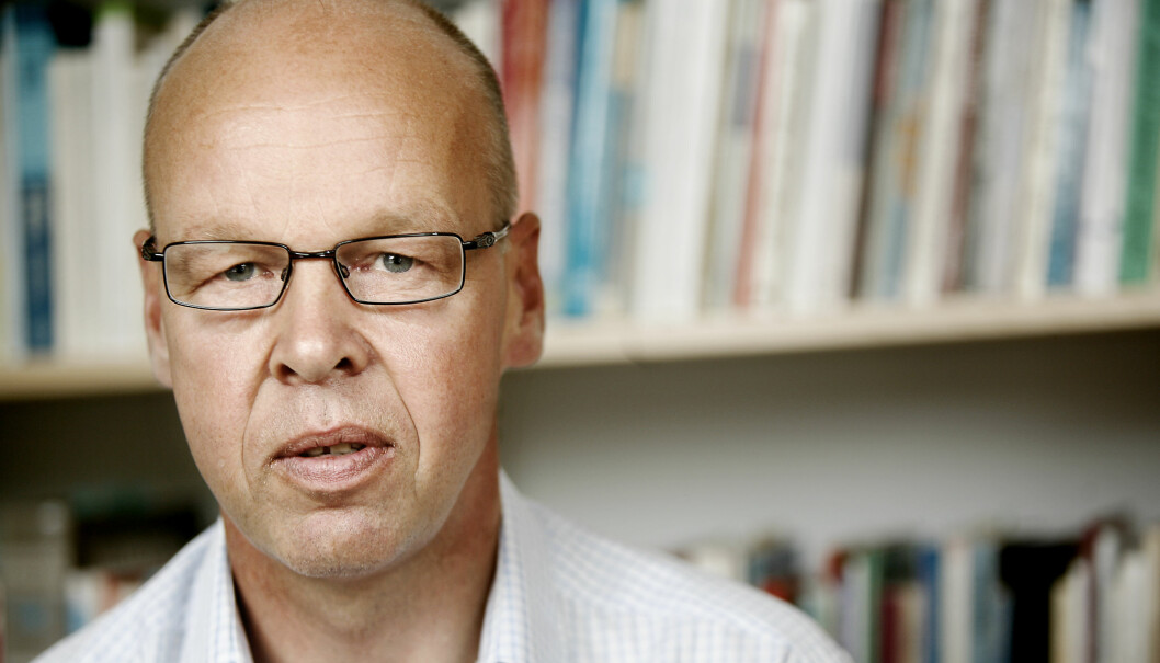 Thomas Nordahl får kritikk for et foredrag han holdt for skoleleder i Hedmark. Foto: Tom Egil Jensen