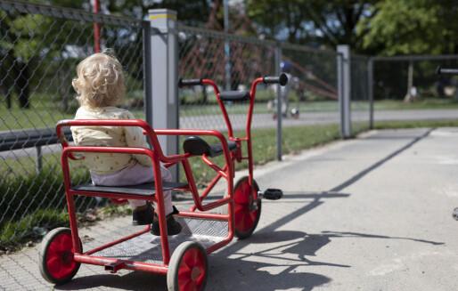 Ny rapport: Barnehagene bør ikke finansieres på samme måte som privatskolene
