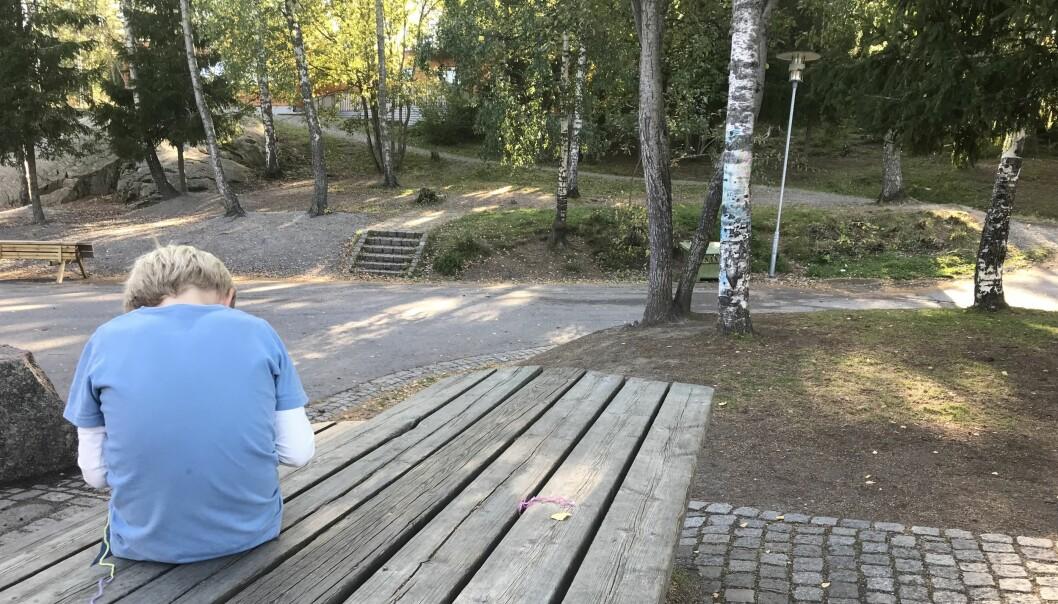 For under én uke siden ble det kjent på NRK at Kripos er koblet inn etter at foreldre uten foreldreansvar, som ikke skulle få informasjon om barna, ble lagt til i skoleappen Vigilo i Bergen kommune. Det har også skjedd på Østlandet. Ill.foto: Paal Svendsen