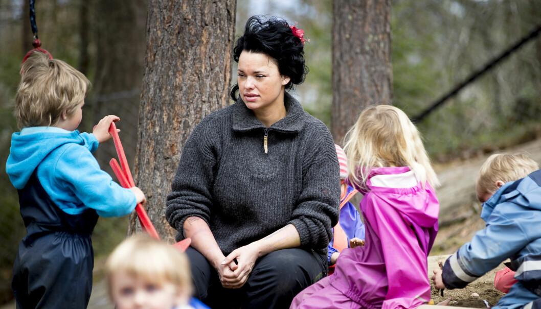 Palma Kleppe, en av initiativtagerne til Barnehageopprøret. Foto: Jørgen Jelstad