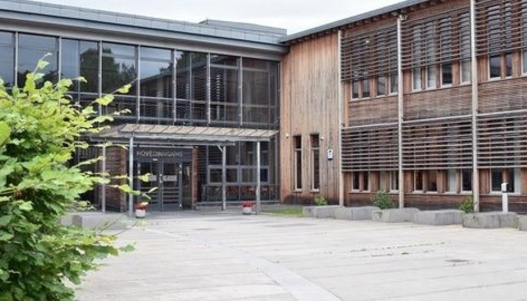 Visma in School, det nye datasystemet ved Nadderud og de andre videregående skolene i Akershus, byr på store problemer. Foto: Akershus fylkeskommune