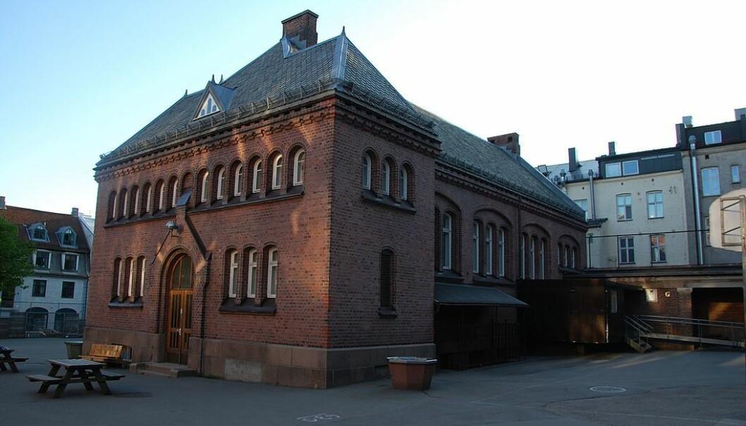 Elever på Lilleborg skole i Oslo holdes innendørs på grunn av pågående politiaksjon. Foto: Wikimedia Commons